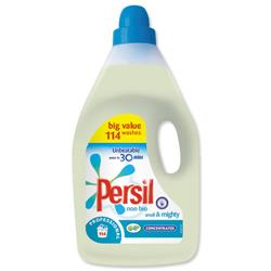 Persil Small and Mighty Washing Detergent Liquid Non Bio 115 Washes 4 Litre Ref 100856578