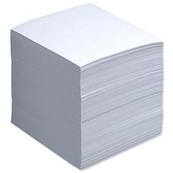 5 Star Office Refill Block for Noteholder Cube Approx. 750 Sheets of Paper 90x90mm White
