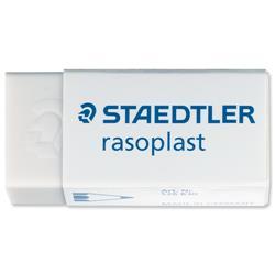 Staedtler Rasoplast Erasers 42x18x12mm Ref 526B30 - Pack 30