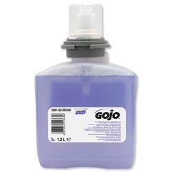 Gojo Foam Soap Hand Wash Refill with Conditioner for TFX Dispenser 1200ml Ref N06250 - Pack 2