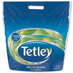 Tetley One Cup Teabags High Quality Tea Ref 1018K [Pack 1100]
