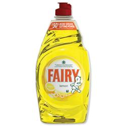 Fairy Liquid for Washing-up Lemon 433ml Ref 1015072 [Pack 2]