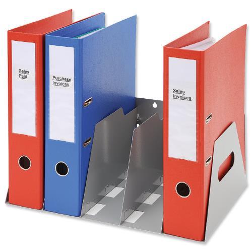 Lever arch filing rack portable rigid metal grey a4 - Office 2014 portable ...
