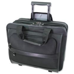 Lightpak Business Trolley Laptop Nylon Capacity 17in Black Ref 92707