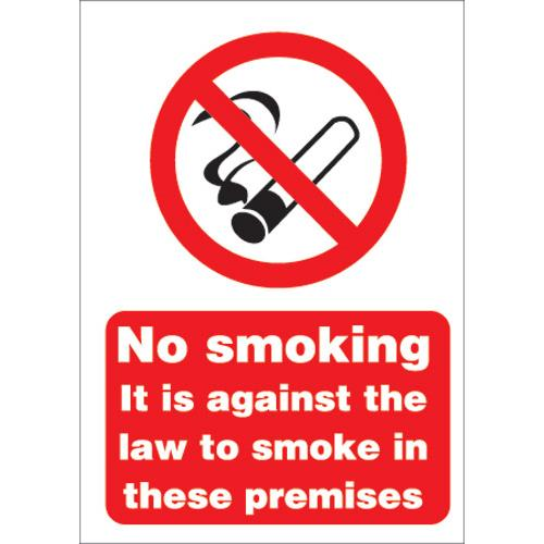buy stewart superior no smoking sign a5 self adhesive vinyl ref