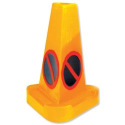 No Waiting Cone Polyethylene Height 530mm Diameter 200mm
