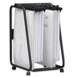 Arnos Hang-A-Plan General Front Load Trolley for A1-A2-B1 Binders Ref D061
