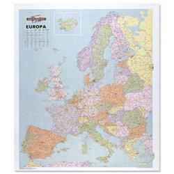 Map Marketing Political Map of Europe Unframed 900x1020mm Ref WEURP