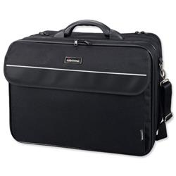 Lightpak Corniche Multifunction Nylon with Laptop Compartment Capacity 17in Black Ref 46075