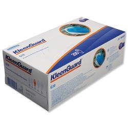 KleenGuard G10 Arctic Blue Nitrile Gloves Medium Ref 90097 - 100 Pairs