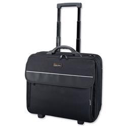Lightpak Treviso 17in Laptop Trolley Overnight Black Ref 92702