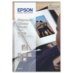 "Premium Epson Glossy Photo Paper 4x6"" Ref C13S042153 - 40 Sheets"