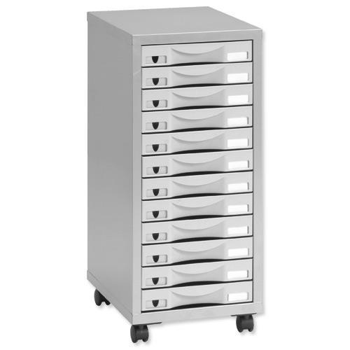 Buy Pierre Henry Multi Drawer Storage Cabinet Steel 12
