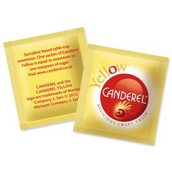 Canderel Yellow Artificial Sweetener Low Calorie Granules Sachets Ref 0403180 [Pack 1000]