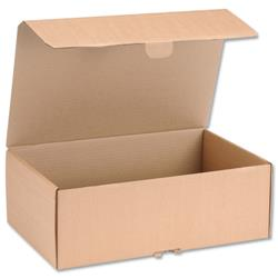 Mailing Carton Easy Assemble L 395x255x140mm Brown [Pack 20]