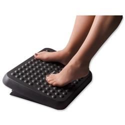 Fellowes Grey Standard Adjustable Footrest W435xD350xH90mm Ref 29200-70