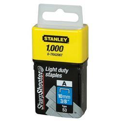 Stanley Light Duty Staples 10mm Ref 0-TRA206T (Pack 1000)