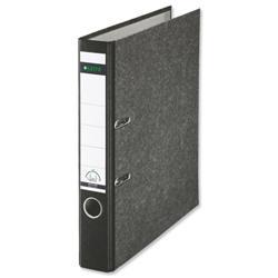 Leitz Standard Mini Lever Arch File 52mm Spine A4 Black Ref 1050-95 [Pack 10]