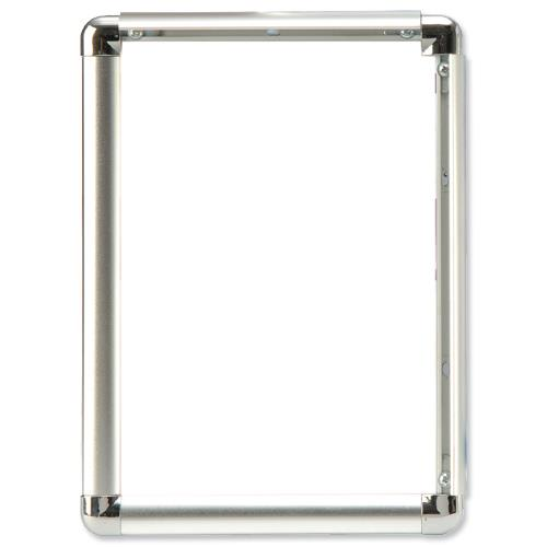 Buy Display Frame Aluminium Front Loading with Fixings A2 - AM-A2SV ...