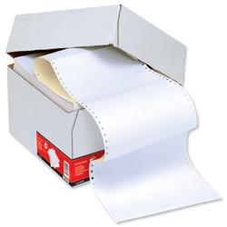 5 Star Office Listing Paper 2-Part Microperforated 80/55gsm Carbonless A4 White/Yellow [1000 Sheets]