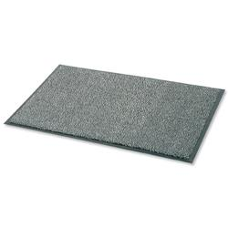Floortex Door Mat Dust and Moisture Control Polypropylene 900mmx1200mm Black and White
