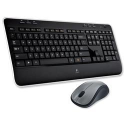 Logitech MK520 UK Cordless Desktop Keyboard Media Full-size and Optical Mouse Ref 920-002606