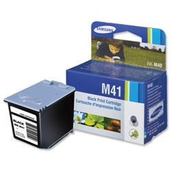 Samsung INK-M41 Black Fax Inkjet Cartridge for SF-370/SF-375TP Ref INK-M41/ELS