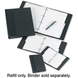 Telephone Index Book Refill Untabbed 20 Sheets A5 White