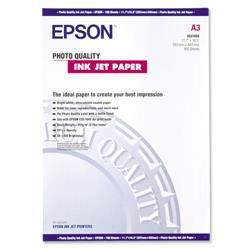 Epson Photo Quality Inkjet Paper Matt 102gsm Max.1440dpi A3 Ref S041068 [100 Sheets]