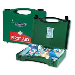 Wallace Cameron Green Box HS2 First-Aid Kit Traditional 20 Person Ref 1002279