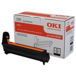 OKI Laser Drum Unit Page Life 20000pp Black Ref 44318508