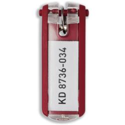 Durable Key Clip Red Ref 1957-03 - Pack 6