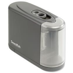 Swordfish Dual Power Pencil Sharpener Battery/Mains Ref 40098