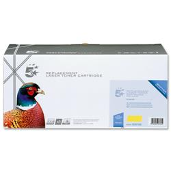 5 Star Office Remanufactured Laser Toner Cartridge Page Life 4000pp Yellow [Brother TN135Y Alternative]