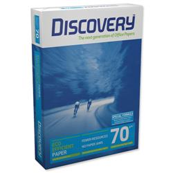 Discovery Everyday A4 Printer Paper 70gsm White Ream-Wrapped Ref NDI0700025 - 5 x 500 Sheets