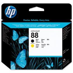 Hewlett Packard HP No 88 Black & Yellow Printhead Ref C9381A