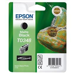 Epson T03484 Ink Cartridge Page Life 440pp 500ml Matte Black Ref C13T034840100