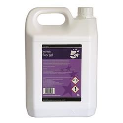 5 Star Facilities Floor Gel Lemon 5L