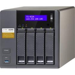 QNAP TS-453A-4G 4 Bay Desktop SATA NAS 4GB Ref TS453A4G
