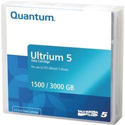 Quantum Ultrium LTO5 Data Tape 1.50TB Native/ 3 TB Compressed Ref MR-L5MQN-01S