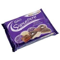 Cadbury Signature Biscuit Collection Variety Pack 250g Ref 4042101