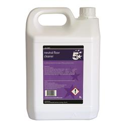 5 Star Facilities Floor Cleaner Neutral 5L
