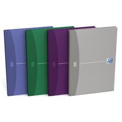 Oxford Office Notebook Casebound Hard Cover 192pp 90gsm A5 Random Colour Ref 100103072 [Pack 5]