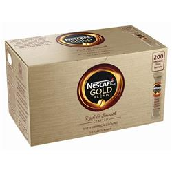 Nescafe Gold Blend Instant Coffee Granules Stick Sachets Ref 12278676 [Pack 200]