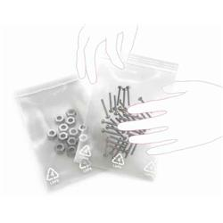 Grip Seal Bag Plain Gl07 140 X 140mm (5.5 X 5.5) 160g Ref G7 [Pack 1000]