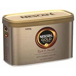 Nescafe Gold Blend Instant Coffee Tin 500g Ref 12284101