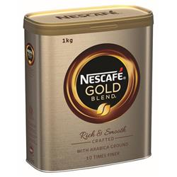 Nescafe Gold Blend Coffee 1kg Tin Ref 12284108