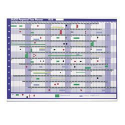 Sasco Magnetic Perpetual Year Planner Ref 2400001