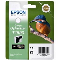 Epson T1590 Inkjet Cartridge Kingfisher 17ml Gloss Optimiser Ref C13T15904010