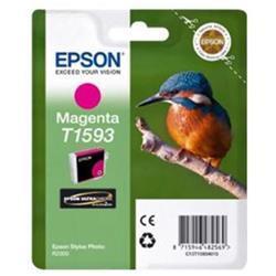 Epson T1593 Inkjet Cartridge Kingfisher 17ml Magenta Ultra Chrome Ref C13T15934010